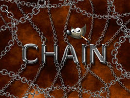 GIMP-Chain-Brush by Chrisdesign