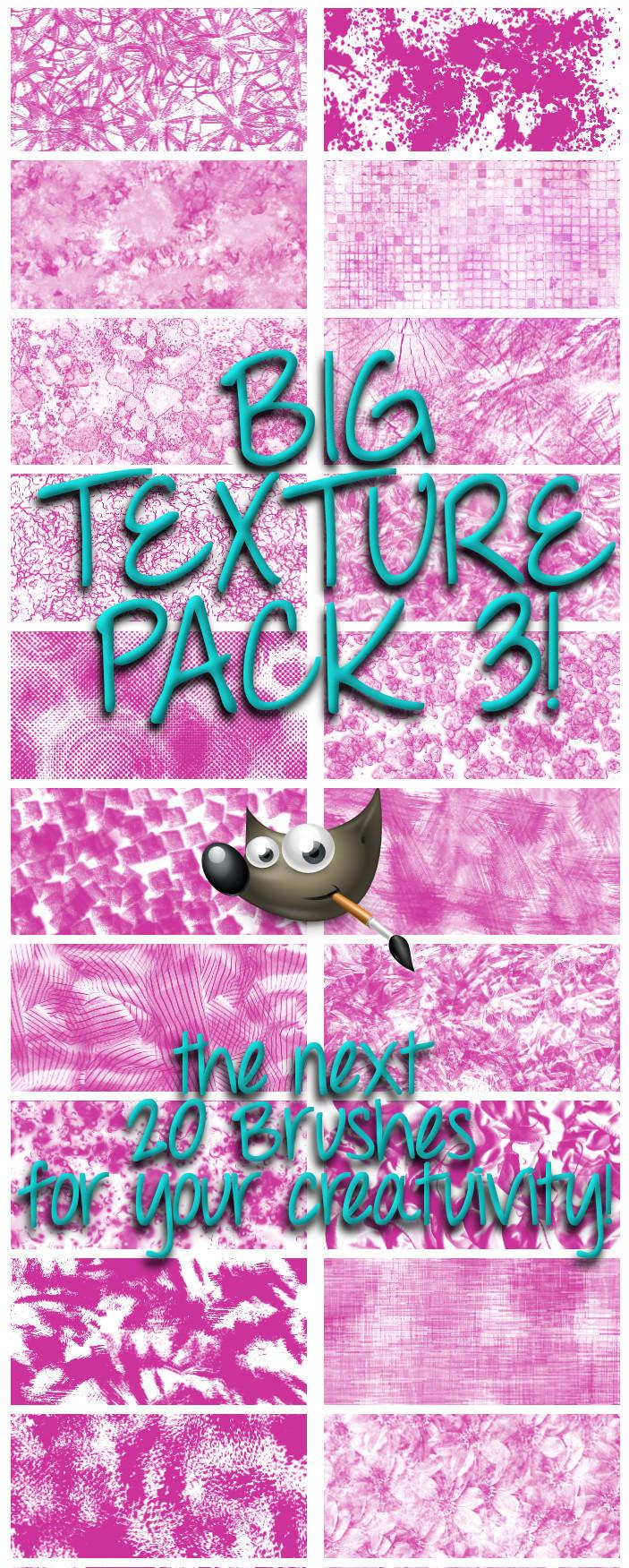GIMP-Texture-Brush-Set 3 by Chrisdesign on DeviantArt