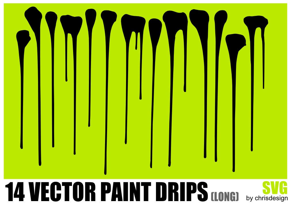 14 vector paint drips long by chrisdesign on deviantart rh chrisdesign deviantart com vector grips drips vector free