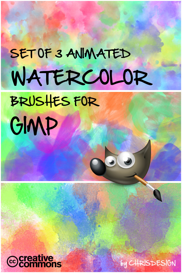 watercolor brush set by Chrisdesign