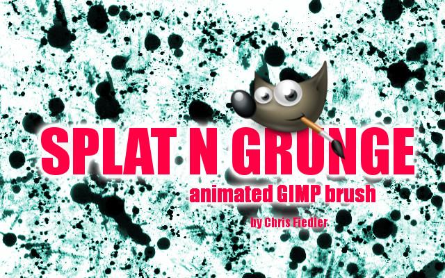 Splat n Grunge Brush by Chrisdesign