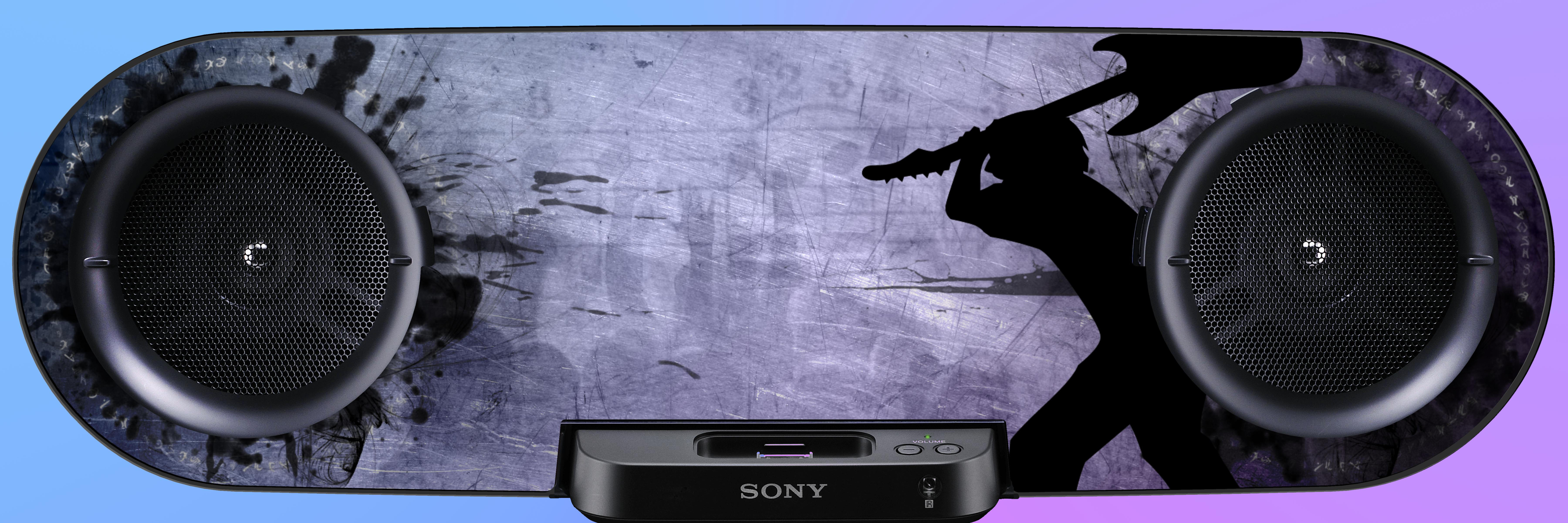 Attitude Skin Sony Trik by GMBermeo