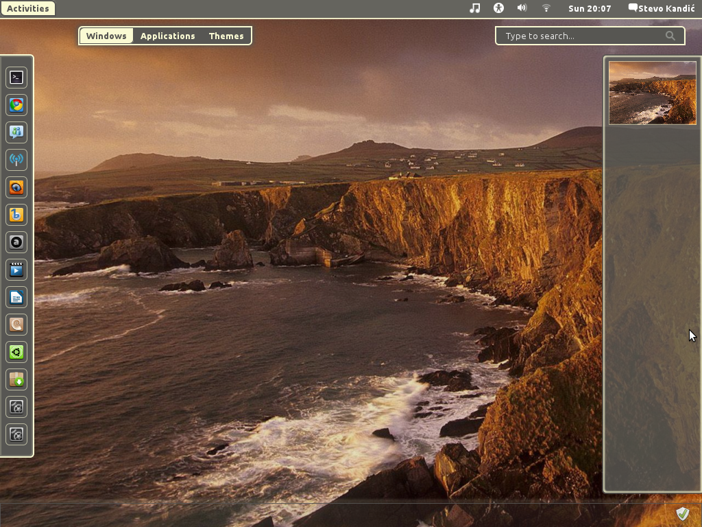 Gnome Shell Memento Theme by Stevoknet