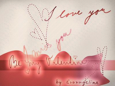 Love brushes by evanngelinek