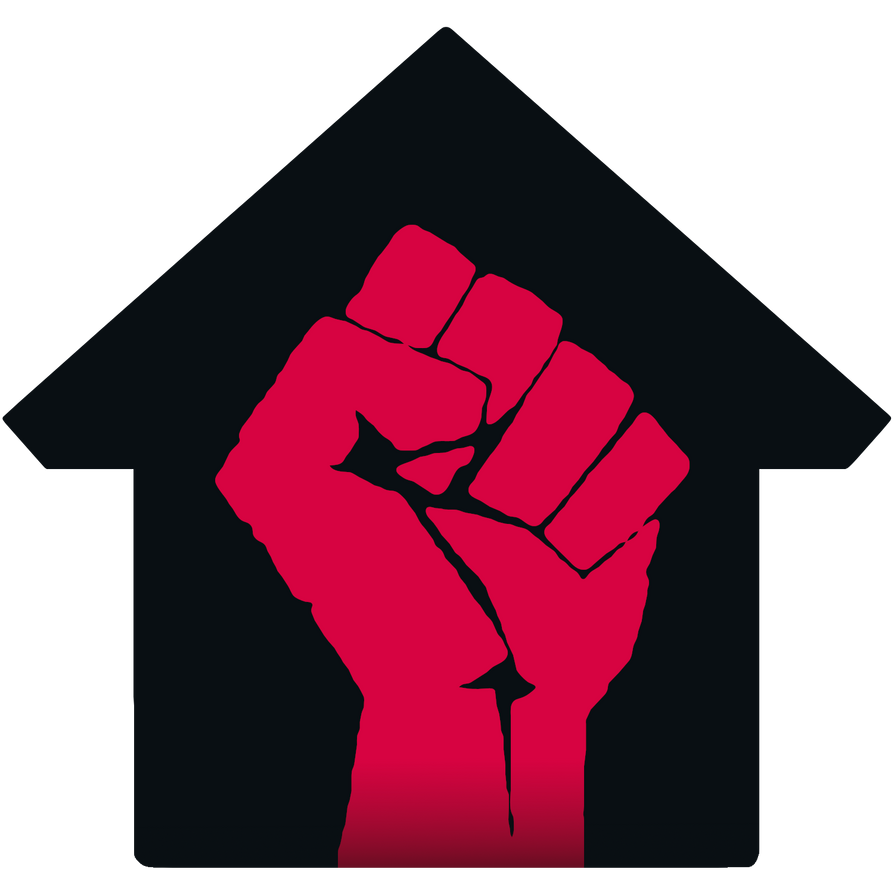 Logo de la grève des loyers