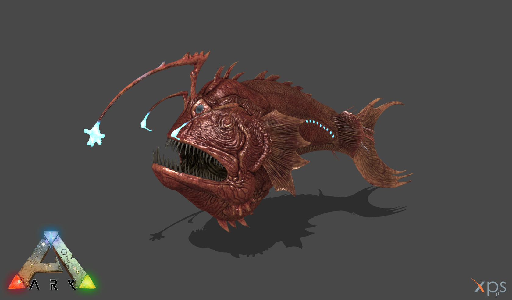 ark se anglerfish by phelcer on deviantart