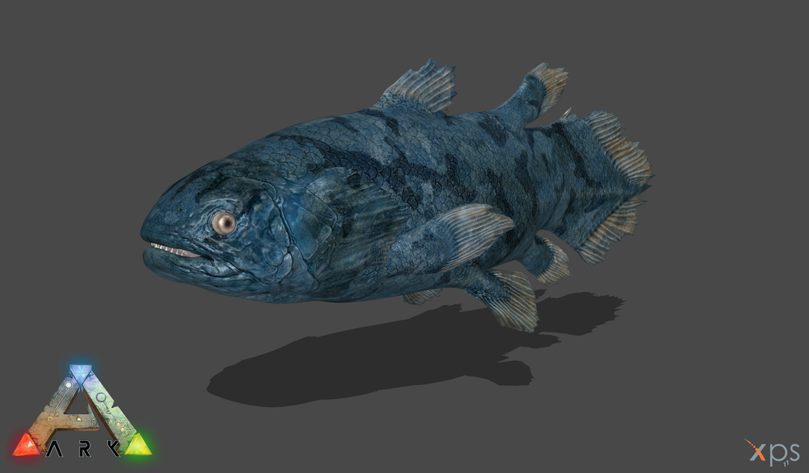 Ark se coelacanth by phelcer on deviantart for Angler fish ark