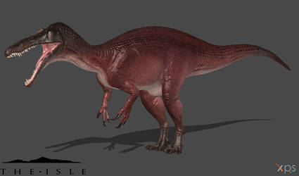 [The Isle] Default Suchomimus by Phelcer