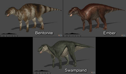 [The Isle] Maiasaura Skin Pack #1 by Phelcer