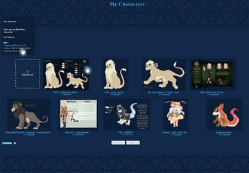 Blue Gallery CSS by TaNa-Jo