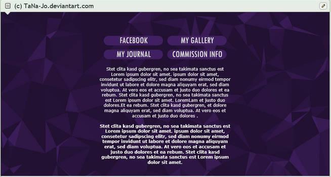 Purple custom box code