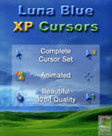 Luna Blue - XP Cursors