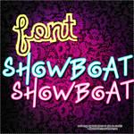Font ShowBoat
