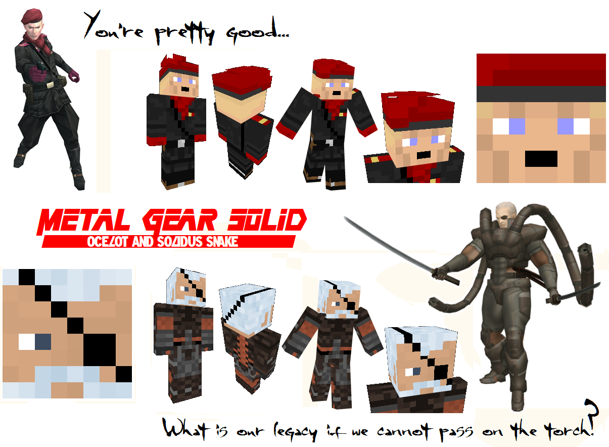 solid the patriots minecraft skins by nickasaurusrex fan art skins ...