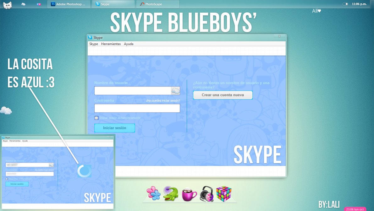 how to change your skype theme