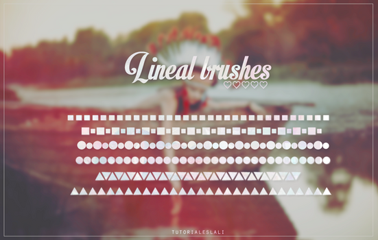 Lineal brushes