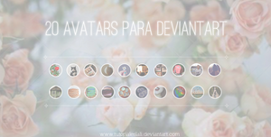 Avatars para Deviantart by tutorialeslali