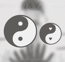 Yin Yang [PSD] by tutorialeslali