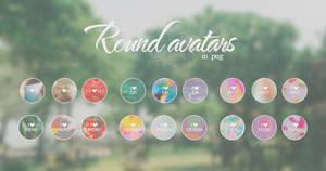 Round Avatars [PNG]