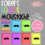 Folders Color's Moustache