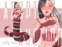 [OPEN] Adopt Auction - Shy Snake by 3milkymilk