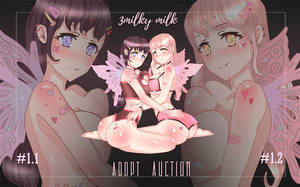 [OPEN] Adopt Auction (2/2) - Fairy Girls by 3milkymilk