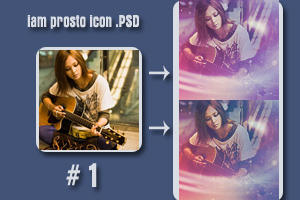 iam prosto icon PSD 1 by iamprosto
