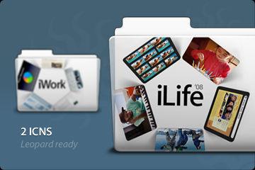 iWork and iLife Folders