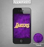 L.A. Lakers iPhone Wallpaper
