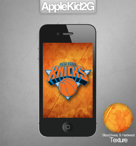 NY Knicks IPhone Wallpaper By TevinFields