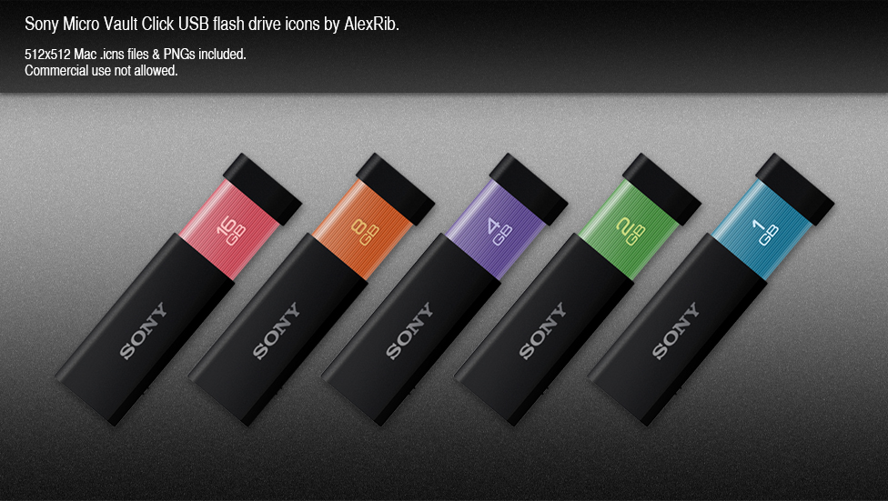 Sony Micro Vault Click by AlexRib