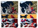 Spidey vs. Venom 1 Flats by Staminaboy