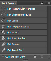 Flat Tool Presets for Photoshop