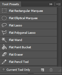Flat Tool Presets for Photoshop by Staminaboy