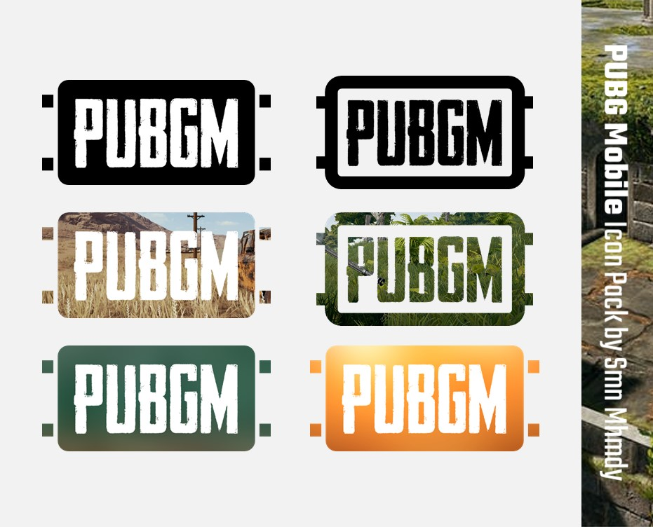 PUBG Mobile Icon Pack by SmnMhmdy on DeviantArt