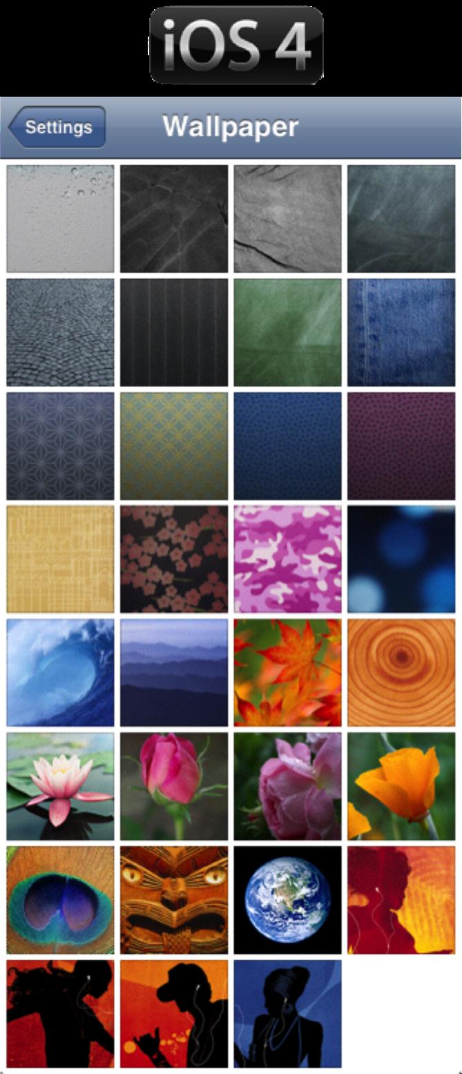 image gallery ios 4 wallpaper