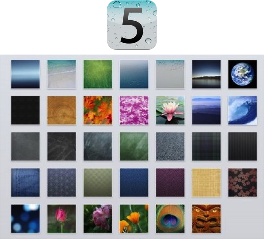 IOS 5 IPad Wallpaper Bundle By CptnEclectic