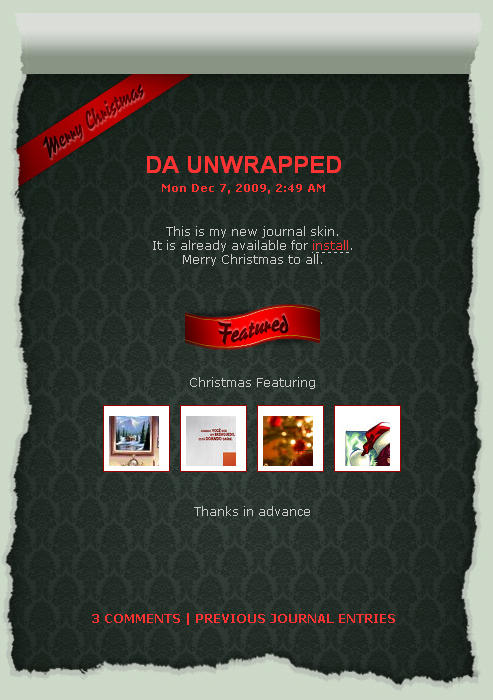 dA unwrapped -low res by Dredmix