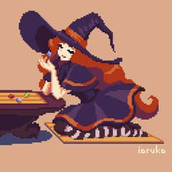 Octobit Day 18: Witchcraft (animated)