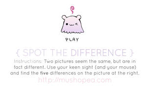 spot the difference by mushomusho