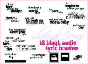 100x100 Blaqk Audio Brushes