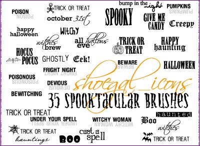 100x100 Spooktacular Brushes