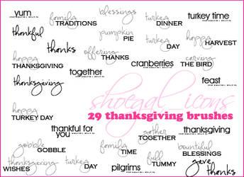 100x100 Thanksgiving Brushes