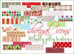 100x100 Christmas Textures