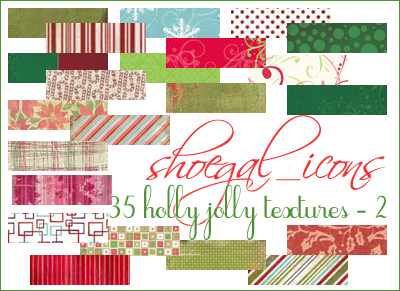 100x100 Christmas Textures II by kissncontrol