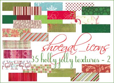 100x100 Christmas Textures II by kissncontrol