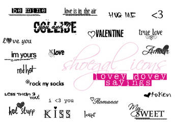 Lovey Dovey Sayings