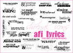 AFI Lyrical Brushes - Art of D