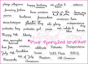 100x100 Star Spangled Brushes