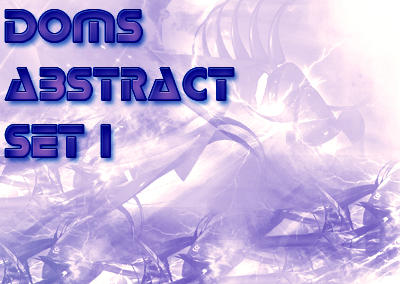 Doms abstract set 1 by lildom